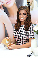 Lucy Mecklenburgh launches here perfume 'Wings' at Beauty Based in Westfield, London. 22/11/2014 Picture by: James Smith / Featureflash