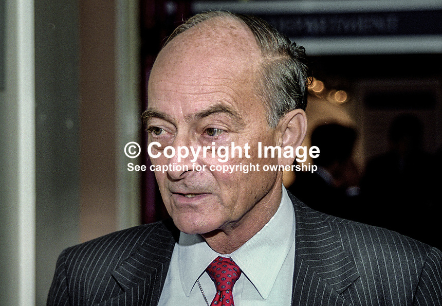 Sir Peter Petrie, Bank of England, UK, October, 1999, 199910003..Copyright Image from Victor Patterson, 54 Dorchester Park, Belfast, United Kingdom, UK...For my Terms and Conditions of Use go to http://www.victorpatterson.com/Victor_Patterson/Terms_%26_Conditions.html