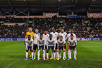 England Under 21's during the UEFA Euro U21 Qualifying match between England U21 & Kosovo U21 at KCOM Craven Park, Hull, England on 9 September 2019. Photo by Stephen Buckley / PRiME Media Images.