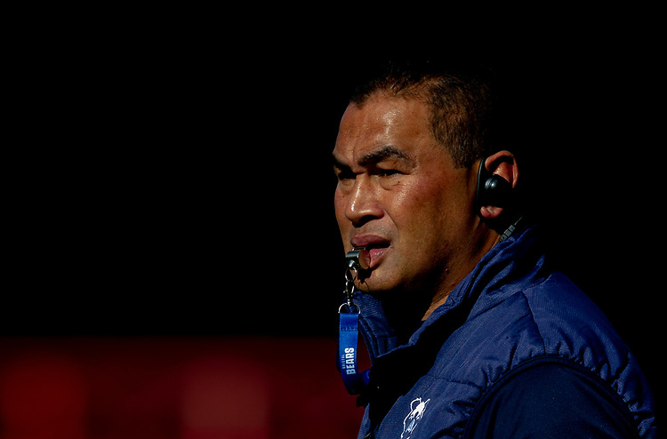 Bristol Bears' Head Coach Pat Lam<br /> <br /> Photographer Bob Bradford/CameraSport<br /> <br /> Premiership Rugby Cup Round Three - Bristol Bears v London Irish - Sunday 6th October 2019 - Ashton Gate - Bristol<br /> <br /> World Copyright © 2018 CameraSport. All rights reserved. 43 Linden Ave. Countesthorpe. Leicester. England. LE8 5PG - Tel: +44 (0) 116 277 4147 - admin@camerasport.com - www.camerasport.com