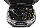 Car Stock 2019 Subaru Outback Premium 5 Door Wagon Engine  high angle detail view