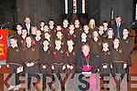 Students from Lissivigeen NS who were Confirmed by Bishop Bill Murphy in St Mary's Cathedral on Friday   Copyright Kerry's Eye 2008
