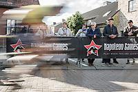 Speeding :Belgian Champion Oliver Naesen (BEL/AG2R Mondiale) <br /> <br /> 102nd Kampioenschap van Vlaanderen 2017 (UCI 1.1)<br /> Koolskamp - Koolskamp (192km)