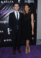 20 May 2016 - Hollywood, California - Adam Scott, Naomi Scott. Arrivals for the P.S. ARTS Presents: The pARTy! held at Neuehouse. Photo Credit: Birdie Thompson/AdMedia