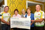 Drogheda Hospice Homecare Cheque