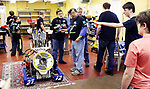 WOODBURY CT. 16 March 2018-031619SV07-The Power Surge 4-H Robotocs team hosted an open house at the Power Station Braxton Engineering Building in Woodbury Saturday.<br /> Steven Valenti Republican-American