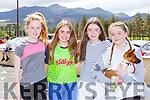 Orla O'Sullivan, Amy Breen, Kayla Kelliher and Holly Richardson who participated  in the Kilgobnet NS Family Colour Splash run on Sunday