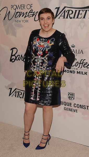New York,NY- April 24: Lena Dunham attends Variety's Power of Women New York at Cipriani 42nd Street on April 24, 2015 in New York City. <br /> CAP/MPI/STV<br /> &copy;STV/MPI/Capital Pictures