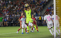 Carson, CA - Thursday August 03, 2017: Ayaka Yamashita during a 2017 Tournament of Nations match between the women's national teams of the United States (USA) and Japan (JAP) at StubHub Center.