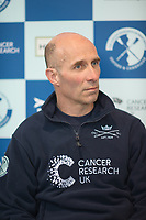 Putney, London,  Tideway Week, Championship Course. River Thames, OUBC, Press Conference, <br /> Coach, Sean BOWDEN, Friday 31.03.2017<br /> [Mandatory Credit; Credit: Peter SPURRIER/Intersport Images.com ]