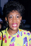 Maxine Waters pictured in New York City, 1994.