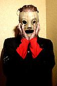 (#8) Corey Taylor – lead vocals, Slipknot Studio Portrait Session In Desmoines Iowa.Photo Credit: Eddie Malluk/Atlas Icons.com