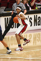 9 November 2006: Stanford Cardinal Melanie Murphy during Stanford's 88-61 win in the first round of the preseason Women's National Invitation Tournament against Loyola Marymount Lions at Maples Pavilion in Stanford, CA.