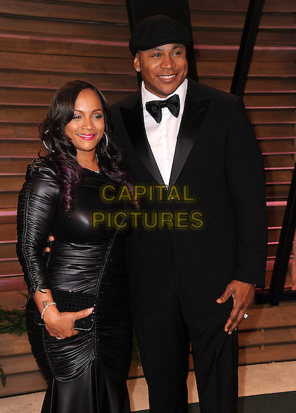 WEST HOLLYWOOD, CA - MARCH 2: LL Cool J and Simone Johnson arrive at the 2014 Vanity Fair Oscar Party in West Hollywood, California on March 2, 2014.<br /> CAP/MPI<br /> &copy;MPI213/MediaPunch/Capital Pictures