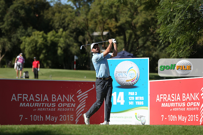 David Howell (ENG) plays to the 14th during Round Two of the Tshwane Open 2015 at the Pretoria Country Club, Waterkloof, Pretoria, South Africa. Picture:  David Lloyd / www.golffile.ie. 13/03/2015