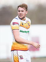 Picture by Allan McKenzie/SWpix.com - 25/03/2018 - Rugby League - Betfred Championship - Batley Bulldogs v Featherstone Rovers - Heritage Road, Batley, England - James Harrison.