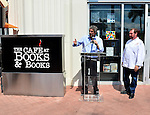 MIAMI, FL - MARCH 02: Books & Books Founder Mitchell Kaplan and Chef Allen Susser attends Books & Books at the Arsht Center Grand Opening Ribbon Cutting Ceremony And Party on Thursday, March 02, 2015 in Miami, Florida. ( Photo by Johnny Louis / jlnphotography.com )