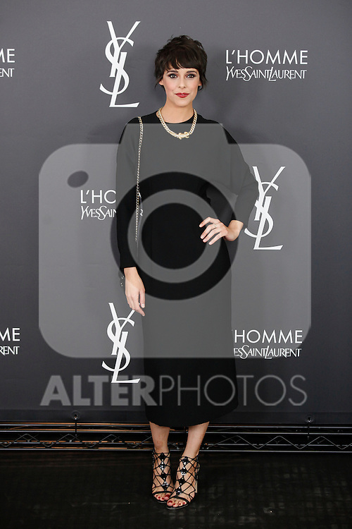 Belen Cuesta attends L'Homme from Yves Saint Laurent event in Madrid, Spain. February 29, 2016. (ALTERPHOTOS/Victor Blanco)