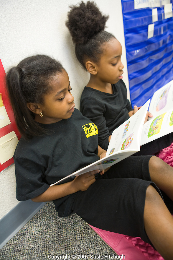 Madrona K-8 School in Seattle, WA: Reading aloud
