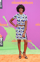 LOS ANGELES, CA July 13- Reiya Downs, At Nickelodeon Kids' Choice Sports Awards 2017 at The Pauley Pavilion, California on July 13, 2017. Credit: Faye Sadou/MediaPunch