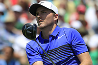 Russell Henley (USA) tees off the 1st tee to start his match during Thursday's Round 1 of the 117th U.S. Open Championship 2017 held at Erin Hills, Erin, Wisconsin, USA. 15th June 2017.<br /> Picture: Eoin Clarke | Golffile<br /> <br /> <br /> All photos usage must carry mandatory copyright credit (&copy; Golffile | Eoin Clarke)