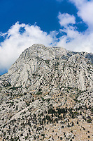 Steep mountain, Kotor, Montenegro
