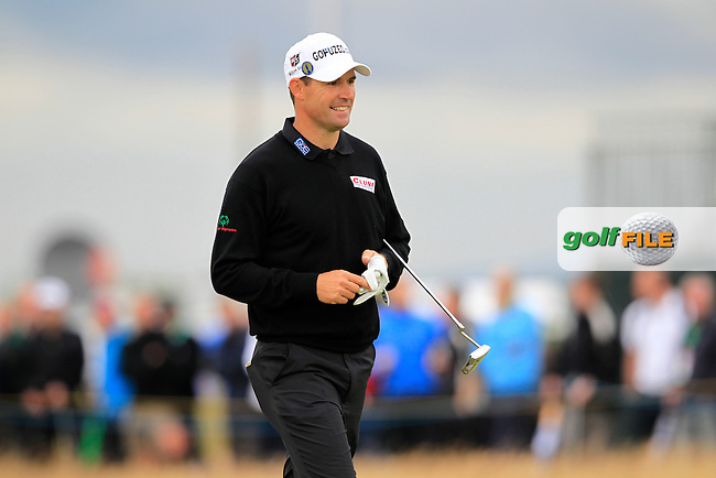 Padraig Harrington (IRL) walks to the 13th green during Thursday's Round 1 of the 141st Open Championship at Royal Lytham & St.Annes, England 19th July 2012 (Photo Eoin Clarke/www.golffile.ie)