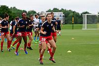 Boyds, MD - Sunday July 31, 2016: Alyssa Kleiner during a regular season National Women's Soccer League (NWSL) match between the Washington Spirit and Sky Blue FC at Maureen Hendricks Field, Maryland SoccerPlex. The Washington Spirit defeated Sky Blue FC 3-1.