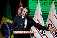 11.06.2019 - Bolsonaro participa da cerimônia de entrega da Ordem do Mérito Industrial em SP