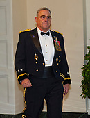 United States Army General Mark A. Milley, Chief of Staff of the Army, arrives for the State Dinner hosted by United States President Donald J. Trump and First lady Melania Trump in honor of Prime Minister Scott Morrison of Australia and his wife, Jenny Morrison, at the White House in Washington, DC on Friday, September 20, 2019.<br /> Credit: Ron Sachs / Pool via CNP