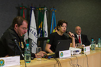 CURITIBA, PR, 22.03.2016: LAVA-JATO – Delegados da Polícia Federal responsaveis pela operação Lava Jato durante entrevista coletiva sobre a 26ª Fase da operação Lava-Jato, na manhã desta terça-feira (22), na sede da Policia Federal, em Curiitba (PR). (Foto: Paulo Lisboa/Brazil Photo Press)