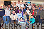 Double Suprise - Eugene Stack from Ahabeg, Lixnaw, centre left and Catherine Kelliher, Banemore, Listowel, centre right having a wonderful time with friends and family at their joint surprise party held in The Railway Bar, Lixnaw on Friday night, Eugene was celebrating his 30th and Catherine her 40th...an......................................................................................................................................................................................................................................................................................................................................................................................................................................................................................................................................................................................................................................... ........................
