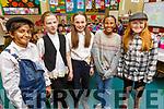 Salma Saeed, Tess O'Neill, Abigail O'Shea, Samira Hassan and Emma Greensmith enjoying the Presentation NS play on Tuesday.
