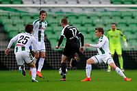 GRONINGEN - Voetbal, FC Groningen - Preussen Munster  oefenwedstrijd , Noordlease stadion, seizoen 2017-2018, 08-11-2017,   FC Groningen speler Ruben Ettergard Jenssen