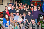 NIFTY SURPRISE: Pat Conway, Racecourse Hts, Tralee (seated centre) got a fab surprise from his family when he walked into Turner's bar, Castle St, Tralee to find his family and friends waiting to celebrate his 50th birthday with him on Saturday night.