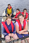 ON THE WATER: Callinafercy Rowing Club members in training for their regatta next Sunday, front l-r: Eimear O'Grady, Michaela Foley. Back l-r: John Joe O'Sullivan (Cox), Eimear Hurley, Tara Horgan.