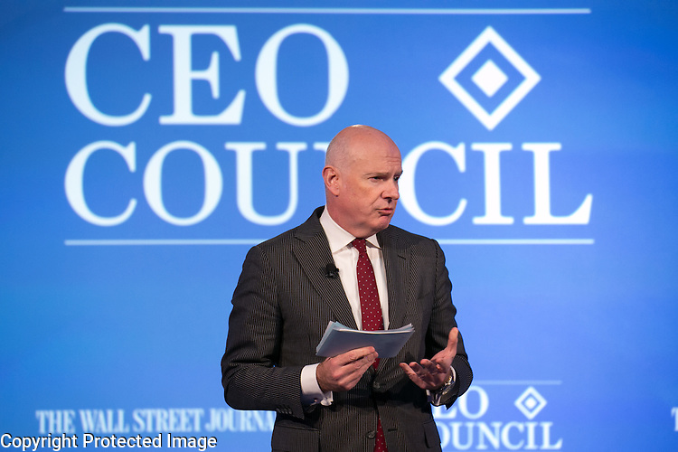 Gerard Baker Speaks at the Wall Street Journal CEO Council on Monday November 16th, 2015.