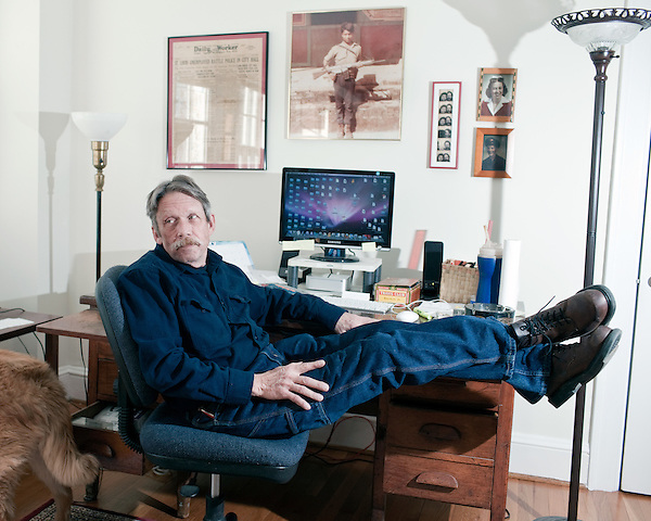 February 02, 2010. Raleigh, North Carolina.. Author, and former Texas Monthly reporter, Dick J. Reavis.