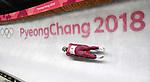 Semen Pavlichenko (OAR). Mens luge. Pyeongchang2018 winter Olympics. Alpensia sliding centre. Alpensia. Gangneung. Republic of Korea. 11/02/2018. ~ MANDATORY CREDIT Garry Bowden/SIPPA - NO UNAUTHORISED USE - +44 7837 394578