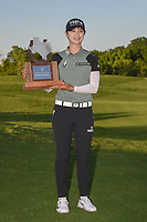 Sung Hyun Park (KOR) holds the trophy for winning the Volunteers of America LPGA Texas Classic, at the Old American Golf Club in The Colony, Texas, USA. 5/6/2018.<br /> Picture: Golffile | Ken Murray<br /> <br /> <br /> All photo usage must carry mandatory copyright credit (&copy; Golffile | Ken Murray)