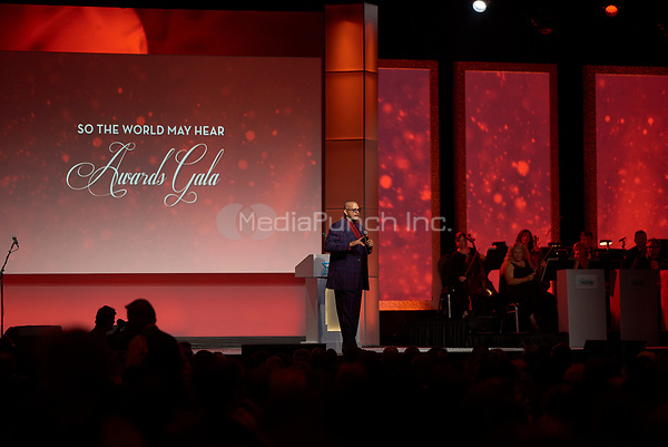 "ST. PAUL, MN JULY 16: Sinbad emcees the Starkey Hearing Foundation ""So The World May Hear Awards Gala"" on July 16, 2017 in St. Paul, Minnesota. Credit: Tony Nelson/Mediapunch"