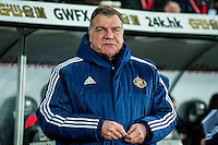 Manager of Sunderland, Sam Allardyce looks on during the Barclays Premier League match between Swansea City and Sunderland played at the Liberty Stadium, Swansea  on  January the 13th 2016