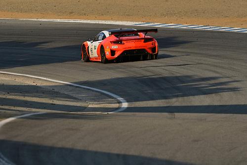 Pirelli World Challenge<br /> Intercontinental GT Challenge California 8 Hours<br /> Mazda Raceway Laguna Seca<br /> Sunday 15 October 2017<br /> Ryan Eversley, Tom Dyer, Dane Cameron, Acura NSX GT3, GT3 Overall<br /> World Copyright: Richard Dole<br /> LAT Images