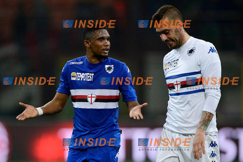 Samuel Eto'o Sampdoria<br /> Milano 12-04-2015 Stadio Giuseppe Meazza - Football Calcio Serie A Milan - Sampdoria. Foto Giuseppe Celeste / Insidefoto