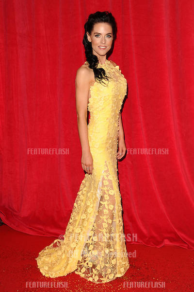 Stephanie Waring arriving for the 2014 British Soap Awards, at the Hackney Empire, London. 24/05/2014 Picture by: Steve Vas / Featureflash