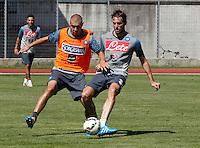 Napoli Calcio ritiro precampionato a Dimaro ( TN)  18 Luglio 2014<br /> nella foto   Josip Radosevic  Michu