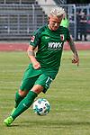 22.07.2017, Donaustadion, Ulm, GER, FSP, FC Augsburg vs Jahn Regensburg, im Bild Jonathan Schmid (Augsburg #17)<br /> <br /> Foto &copy; nordphoto / Hafner
