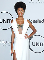 NEW YORK, NY - SEPTEMBER 12: Ebonee Davis attends Unitas Third Annual Gala Against Human Trafficking at Capitale on September 12, 2017 in New York City.  <br /> CAP/MPI/JP<br /> &copy;JP/MPI/Capital Pictures