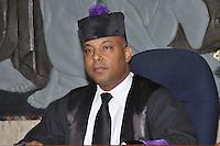 Pedro Sanchez, juez miembro de la  Segunda Sala Penal de la Corte de Apelación del DN.Fotos: Carmen Suárez/acento.com.do.Fecha: 12/07/2011.