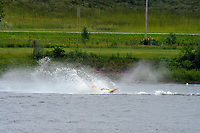 Frame 17: 30-H, 44-S spins out in turn 2   (Outboard Hydroplanes)   (Saturday)